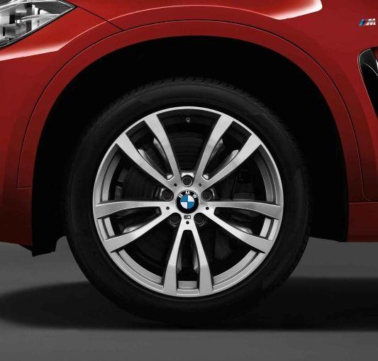 Bmw X6 Wheels: BMW X6, M Light-alloy Wheels, Double-spoke 469 M