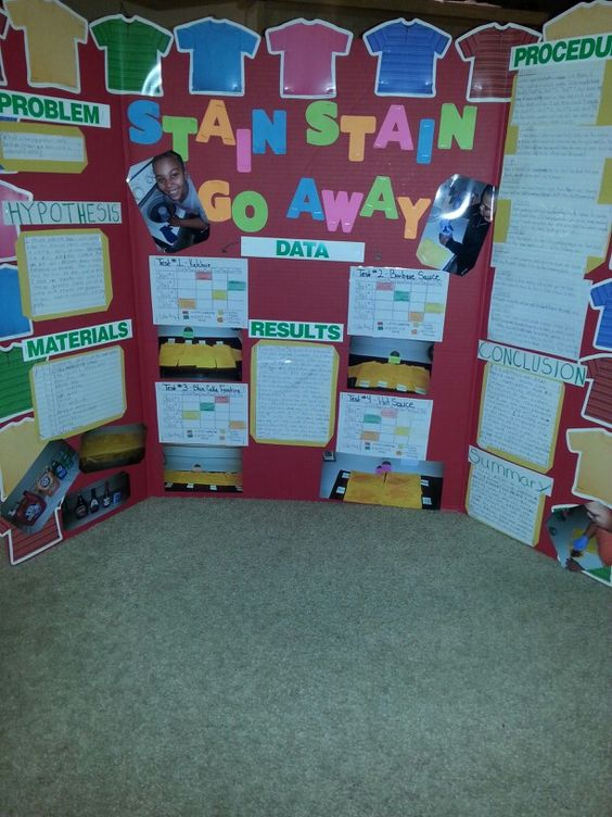 My Sons Science Fair Project Done Over What Is The Best