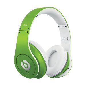 even Dr Dre gets his Irish on:  Beats Studio Over-Ear Headphone in Green from Amazon.com