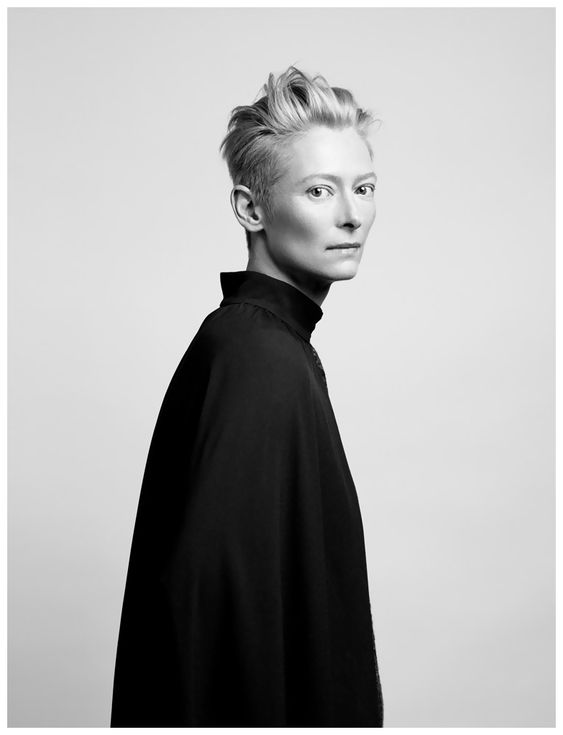 Tilda Swinton on Being Photographed – Time by Peter Hapak, December 8th 2011