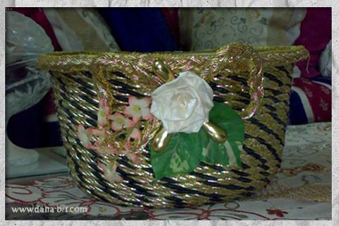 How to decorate a basket !!