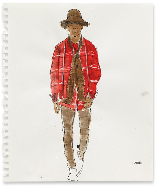Richard Haines - Untitled 5 (A/W 2011 Men's Collections) for New York Times T Blog