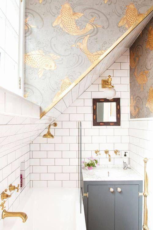 Bathroom Modern Wallpaper Ideas New Best Wallpaper For Bathrooms Frasesdeconquista