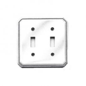 Beaded Double Toggle Lightswitch    Finishes in: Satin Nickel and Polished Chrome!     http://myfinishingtouches.com/index.php?l=product_detail&p=2046