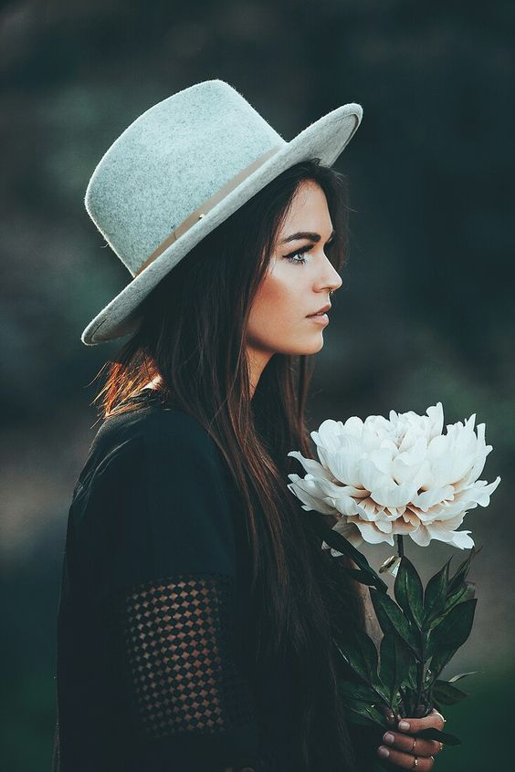 Girl with flowers #flower #girl #display #amazing #photography