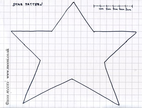 Star Template Primitive Stars And Sports Quilts On Pinterest