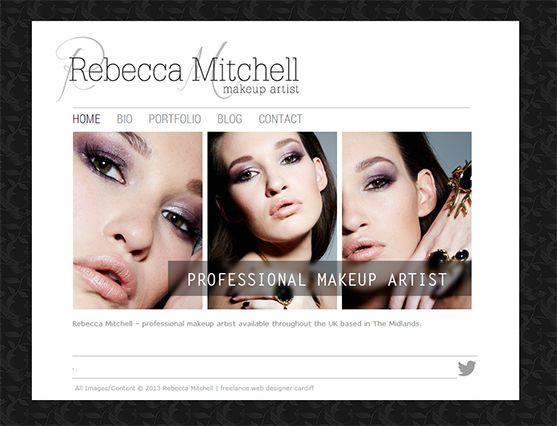 Makeup Artist Website | burin.tk