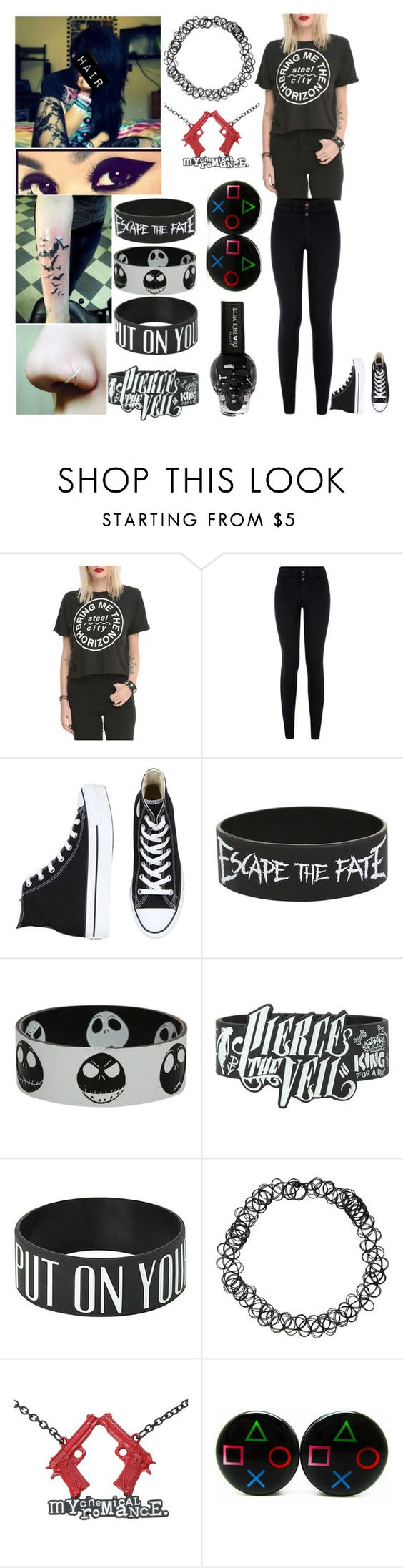 """""""Style #350"""" by katlanacross ❤ liked on Polyvore featuring Converse and Warpaint"""