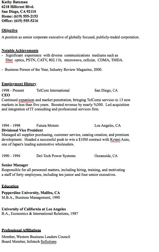 Sample Of Scannable Resume - http\/\/resumesdesign\/sample-of - real estate paralegal resume