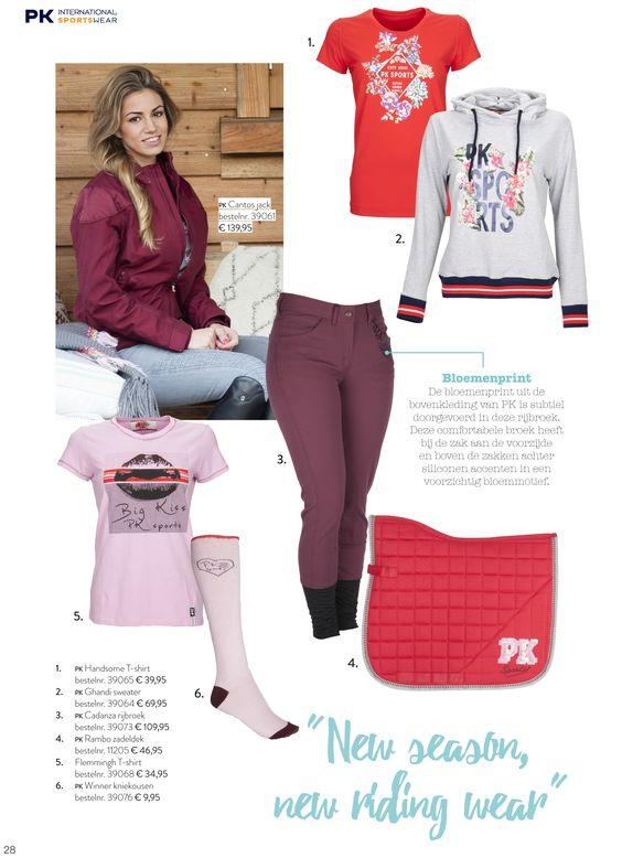 #PKSports #PK #Spring #Collectie #Voorjaar #Lovely #Items #Love #Horse #Paardensport #Mode www.divoza.com