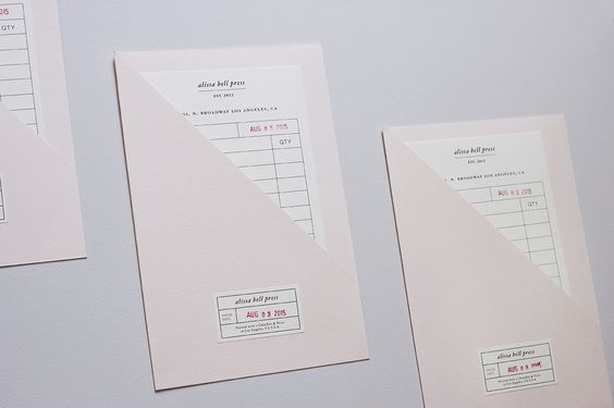 Alissa Bell Press Packing Slips Packaging Pinterest Packing - packing slip