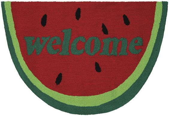 Grant Welcome Slice Mat