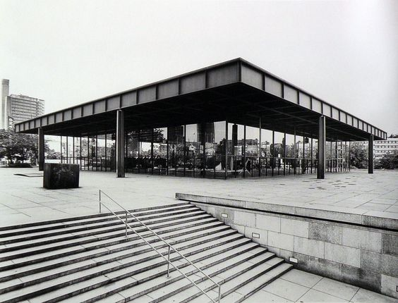 Mies Van der Rohe - Neue Nationalgalerie, Berlino, 1962-1968