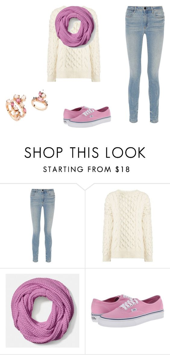 """""""Pink Fall Outfits"""" by balletchica ❤ liked on Polyvore featuring Alexander Wang, Joseph, Coach and Vans"""