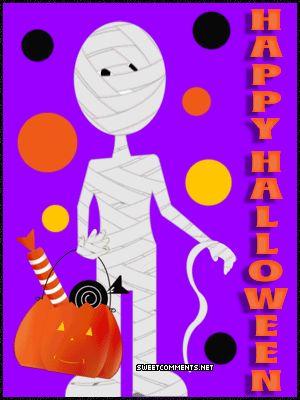 Mummy Halloween Tumblr gif