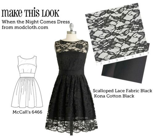 Website that matches sewing patterns to store-bought outfits. DIY anyone?