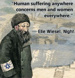 Quote from 'Night' by Elie Wiesel