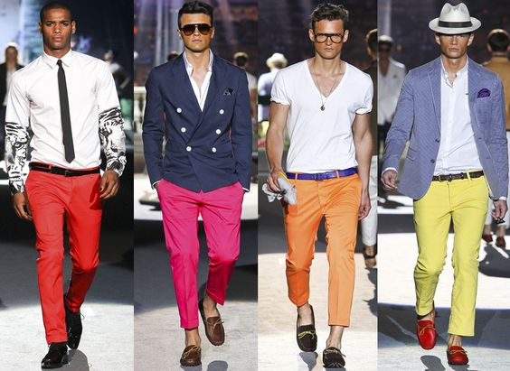 Dsquared² Colored Pants | Man | Pinterest | Colored Pants, Pants ...