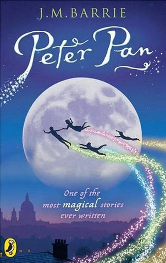 One of the best books ever written....Peter Pan.