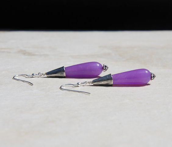Sterling silver earrings bali silver earrings by KarmaKittyJewelry