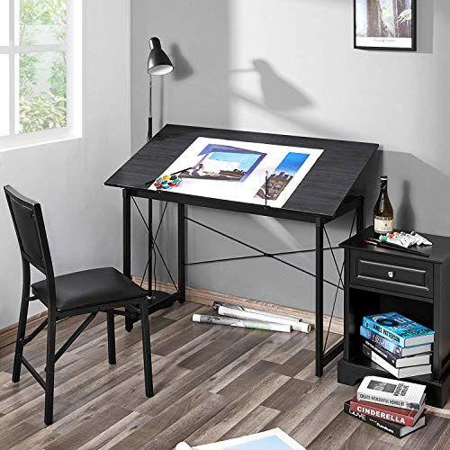 New Kealive Drawing Desk Tiltable 47 2 X 23 6 Large Drafting