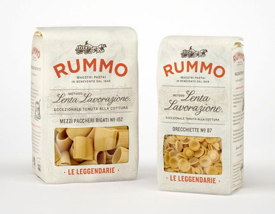 Rummo designed by Irving & Co.