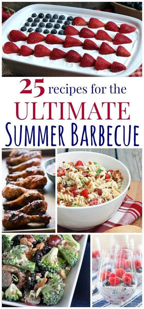 25 Recipes for The Ultimate Summer Barbecue