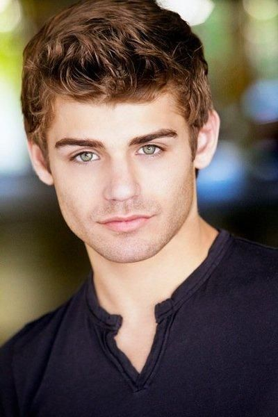 Garrett Clayton.  The fact that his eyes are green makes him even more attractive.
