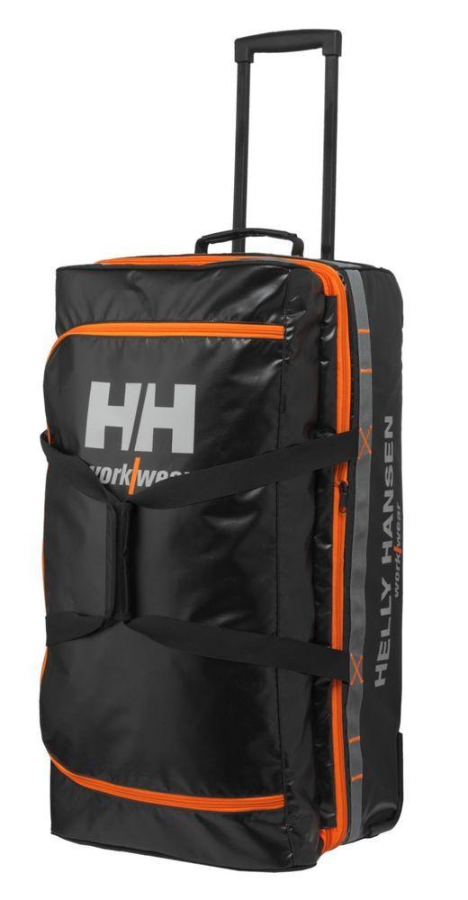 Helly Hansen Workwear Mens Trolley Bag 95l Black Standard Ebay Link Trolley Bags Helly Hansen Bags