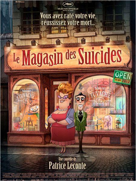 «Le Magasin des suicides» dirigé par Patrice Leconte avec Bernard Alane, Isabelle Spade, Kacey Mottet Klein
