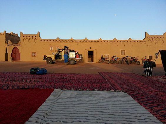 sunrise Ouzina Rimal, Morocco: