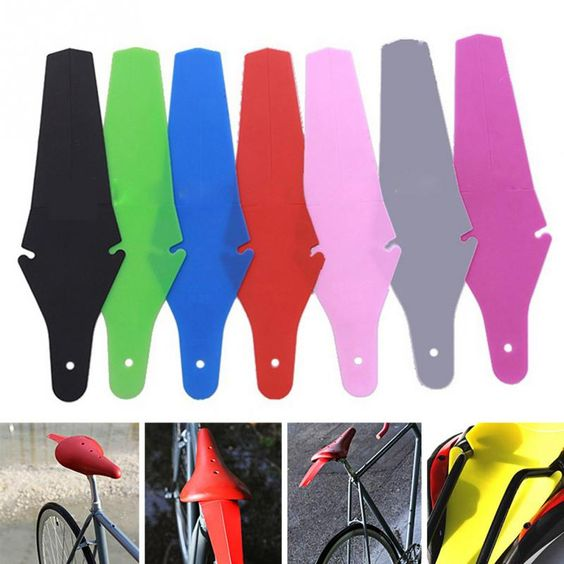 1 Pc MTB Road Wholesale Bike Fender Saddle Mudguard Ass Removable Parts Accessories Rear Bicycle Bike Wings Fender