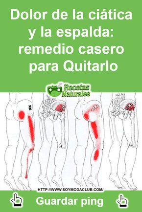 remedios caseros para dolor ciatico