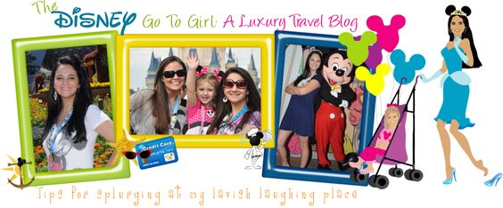 A Travel Blog Devoted to Promoting Disney World as a Luxury Travel Destination... All the latest in Disney News, Fashion and Shopping around the Parks, Deluxe Resort and Signature Dining Reviews, Lots of FAB Disney-related Giveaways!!!