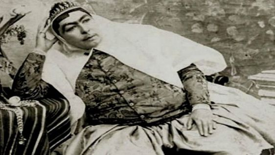 A story of Princess Qajar with Mustache Men killed themselves for her!! - YouTube