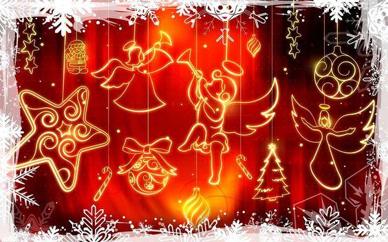 Imagem mundo: Anjos sobre o mundo   #christmas angels and stars