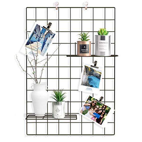 Easy And Cheap Grid Decor Metal Wall Grid Room Diy Decor Display