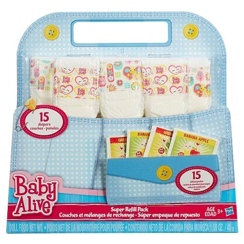 Baby Alive Nappies And Food