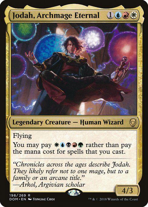 Jodah Archmage Eternal Commander Edhrec In 2020 Magic The Gathering Magic The Gathering Cards The Gathering