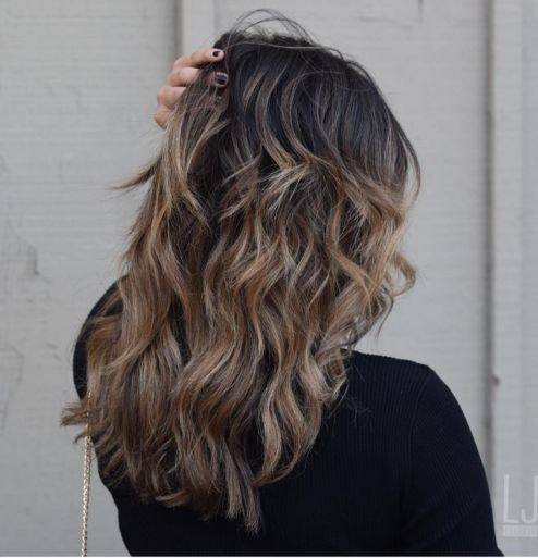 Long Layered Haircut For Thick Hair In 2020 Modern Shag Haircut Long Shag Haircut Haircut For Thick Hair