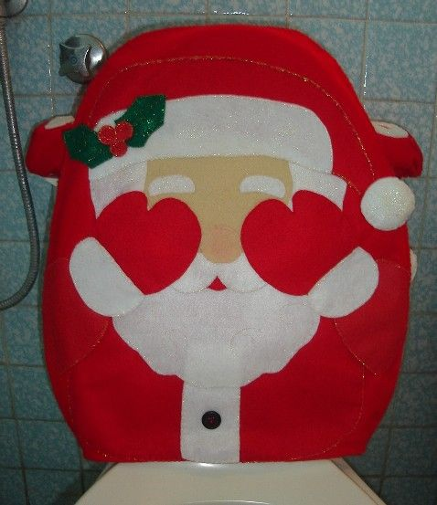 Inspiraci n para labores de navidad en fieltro ba os for Adornos navidenos para el bano