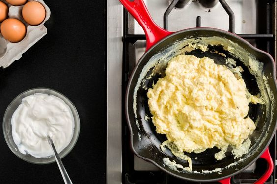 The Number One Secret To Amazing Scrambled Eggs