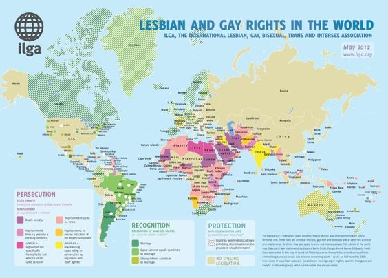 MAPS: The Best And Worst Places To Live if You're Gay. Bigger maps (http://www.upworthy.com/maps-the-best-and-worst-places-to-live-if-youre-gay?rc=i#)