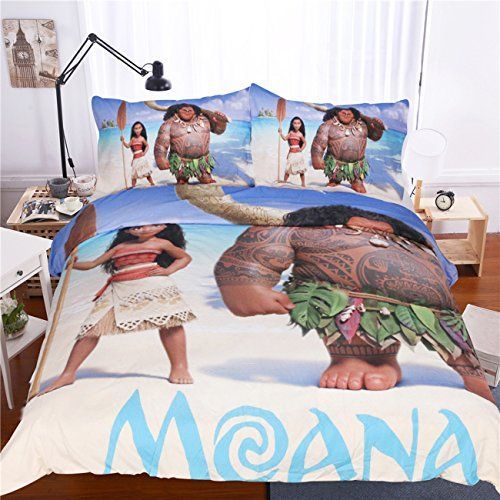Quilt Cover Queen Bedding Sets, Moana Queen Size Bed Sheets