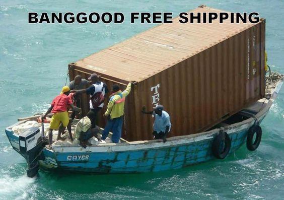 Banggood free shipping