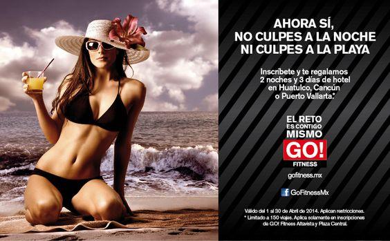¡Aprovecha nuestra gran promoción para el mes de abril! #gofitness #clasesgo #promociones #promo  #cancun #huatulco #puertovallarta #vacaciones #semanasanta