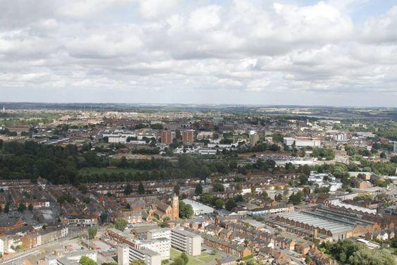 St James area of Northampton, England