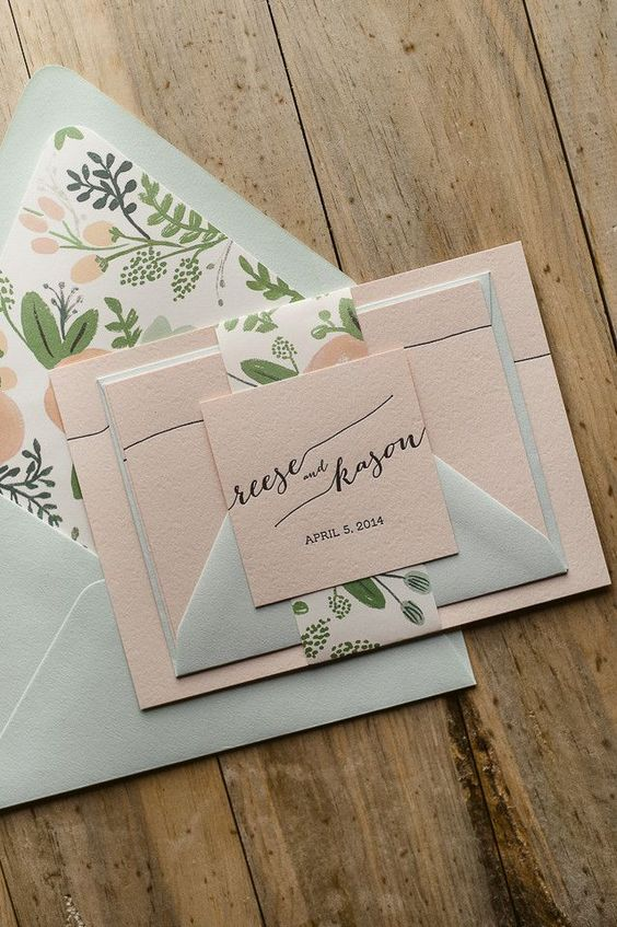 Gorgeous Wedding Invitations -  Jupiter and Juno: