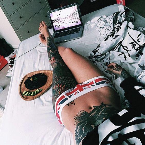 "Tattoos en Instagram: ""How I feel every day  @ilythebabe"""