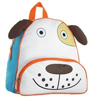 "My First Backpack - Duncan Dog With adjustable straps and a spacious inner and outer compartment, these adorable 11"" L x 11"" H x 4"" W My First Backpacks will have your tots heading out in style and comfort. Polyester and nylon; plastic zipper. Imported."